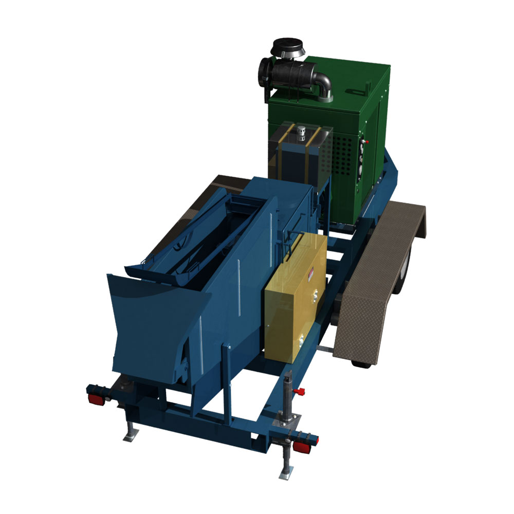 Crusher/Blower: DCB301